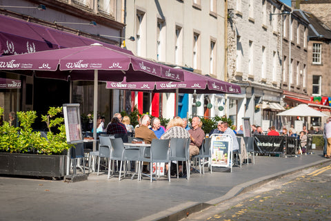 street view of willows coffee shop and restaurant in perth city centre