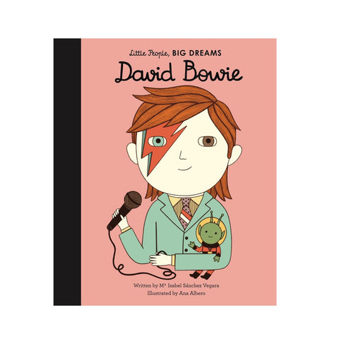 Little People Big Dreams David Bowie book cover