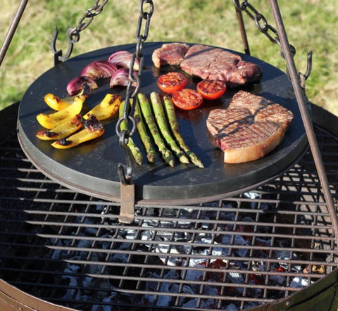 Griddle BBQ for camping, great idea as a gift for fathers day