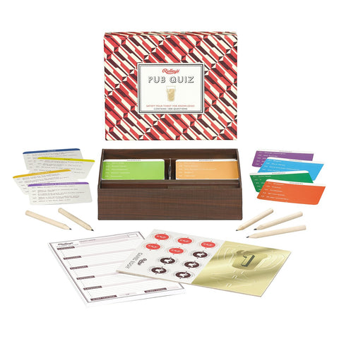 Pub Quiz Game for Father Day Gift