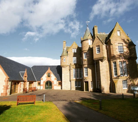 black watch castle and museum in perthshire scotland