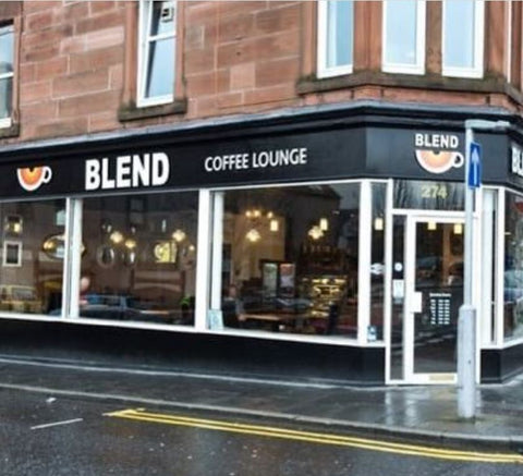 street view of blend perth cafe