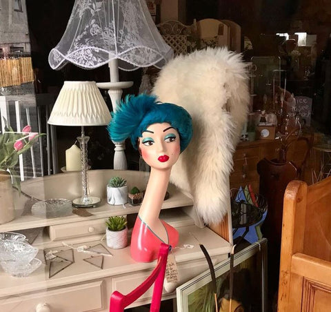 inside the antique store Underneath The Arches in Perth Scotland