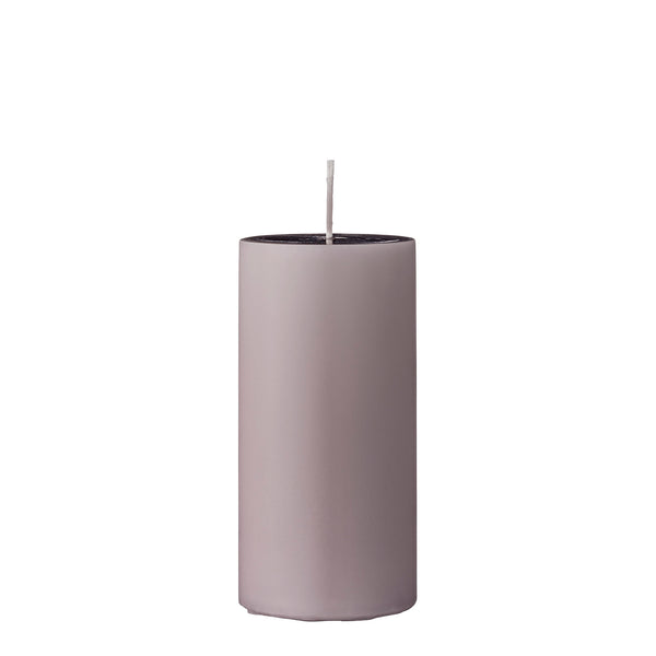 Dusty Rose Large Pillar Candle