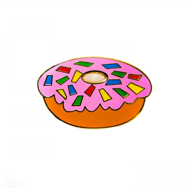 Donut Pin Badge