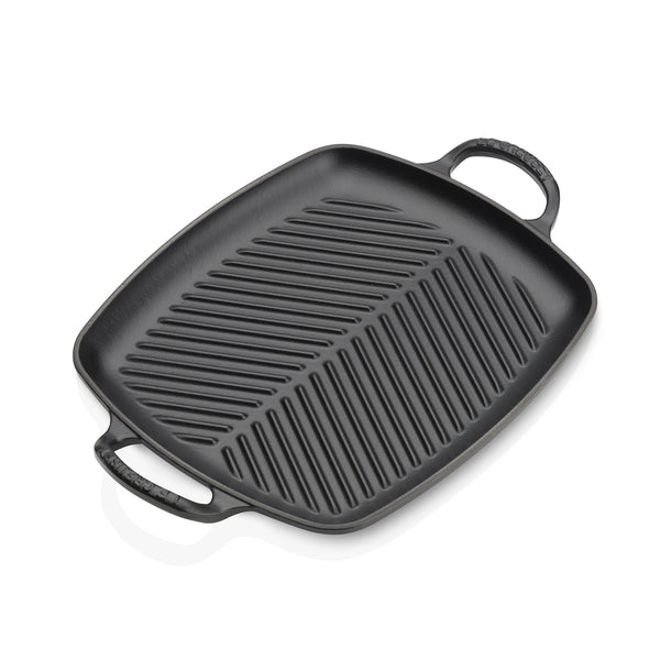 Le Creuset Signature Cast Iron Rectangular Grill - Satin Black