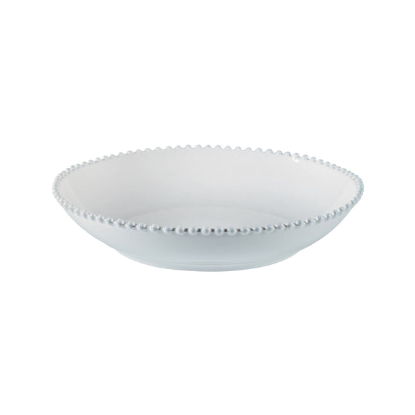 Pearl White Serving Bowl