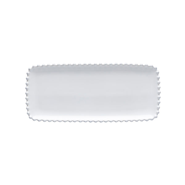 Pearl White Rectangular Serving Dish