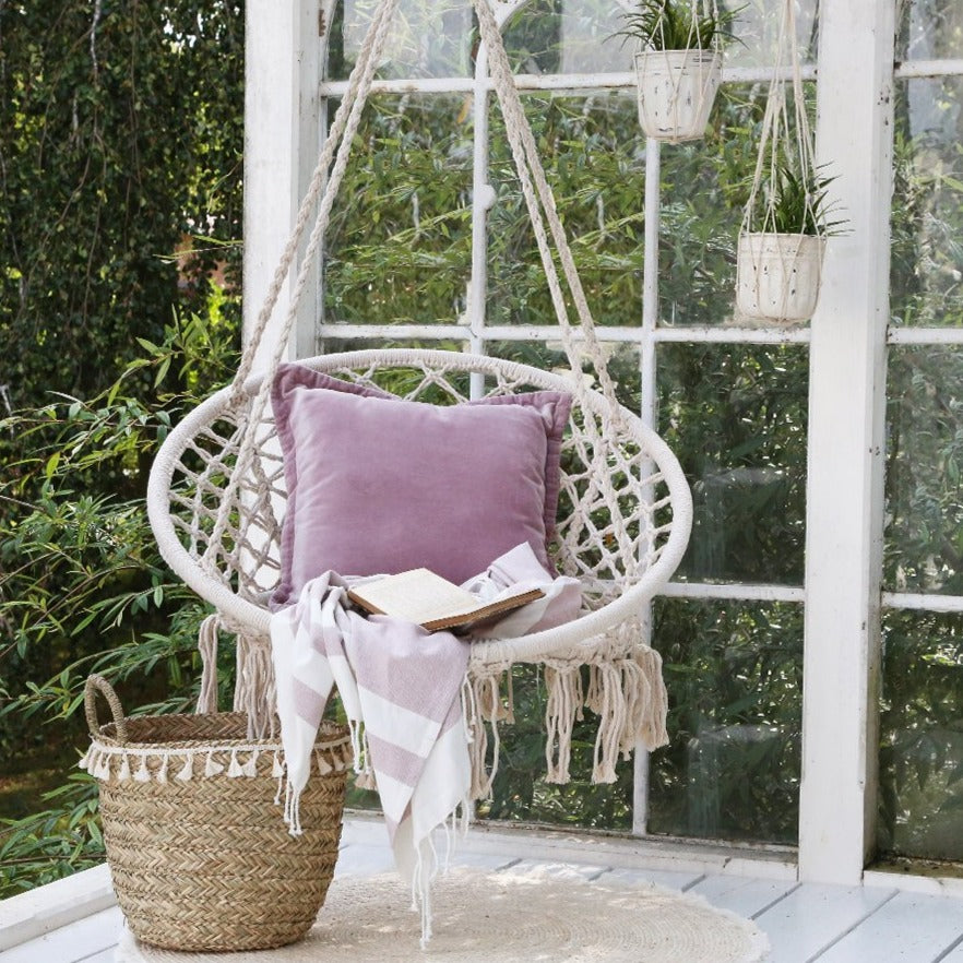 Macrame Swinging Chair