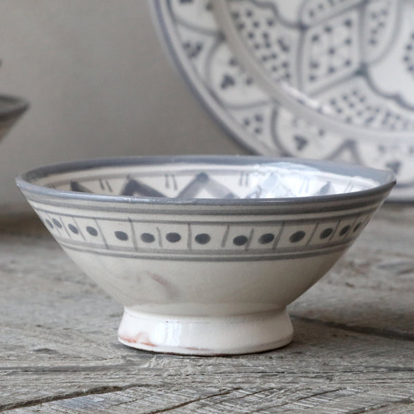 Marrakech Serving Bowl - French Grey