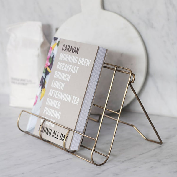 Brompton Brass Cook Book Stand