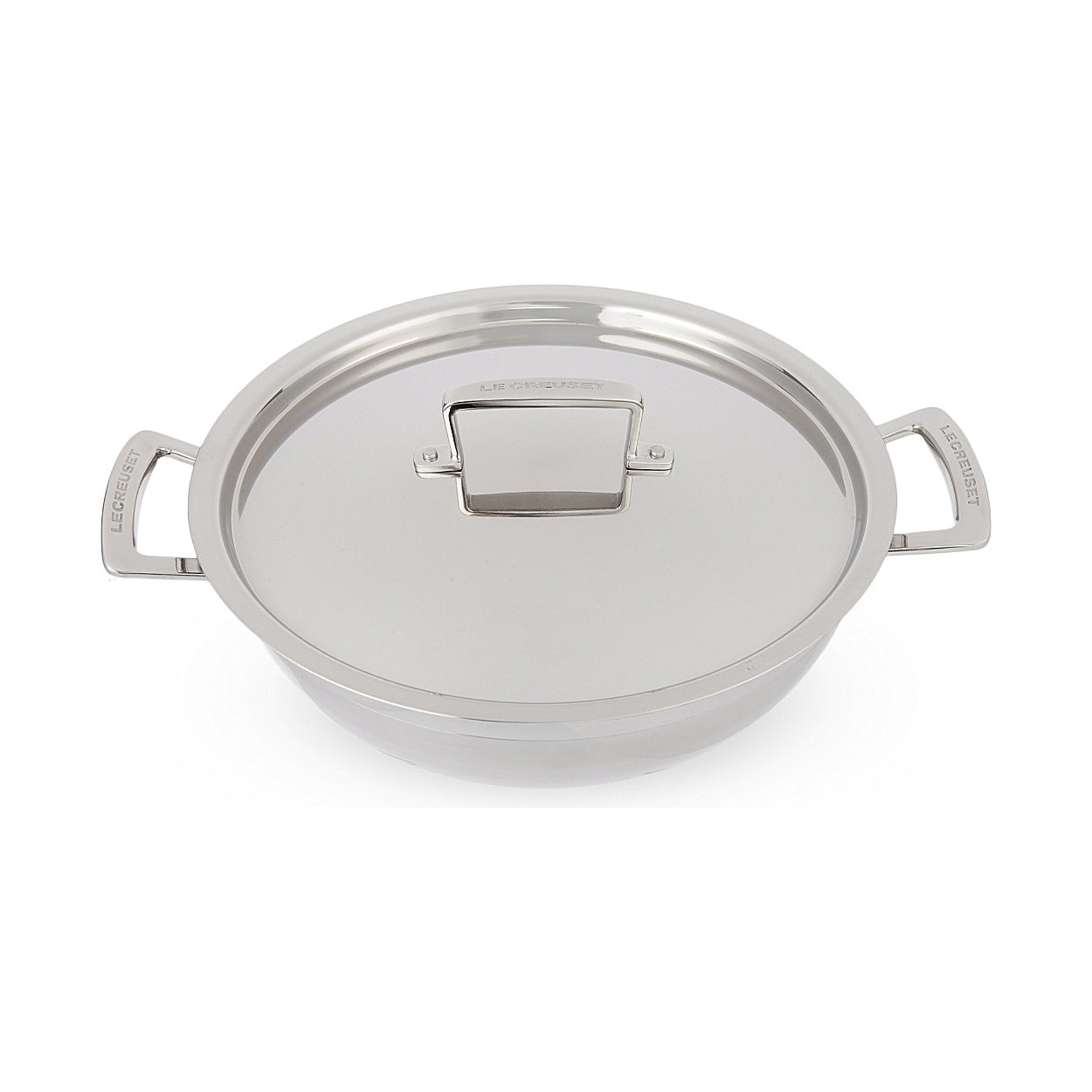 Le Creuset 3-Ply Stainless Steel Shallow Casserole 30cm