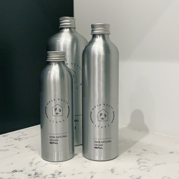 Aluminium Refill Bottle