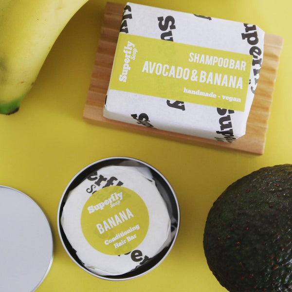 Avocado & Banana Shampoo/Conditioner Bars