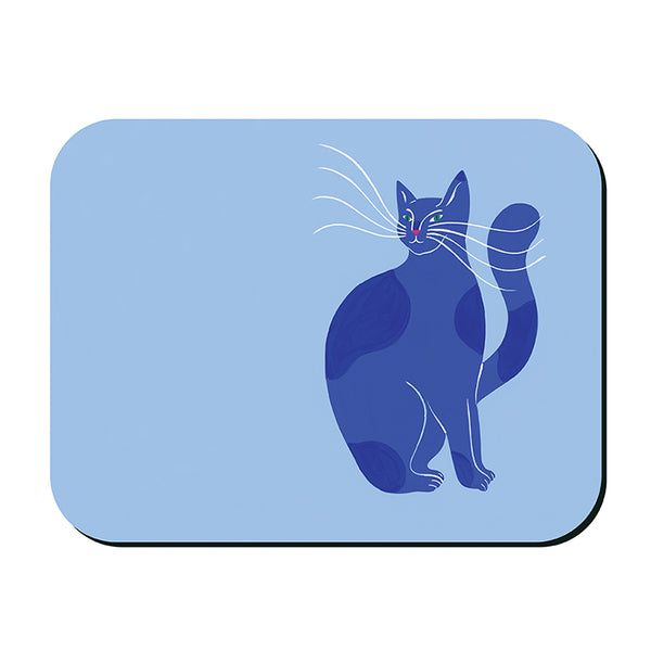 Bright Cats Placemat - Blue