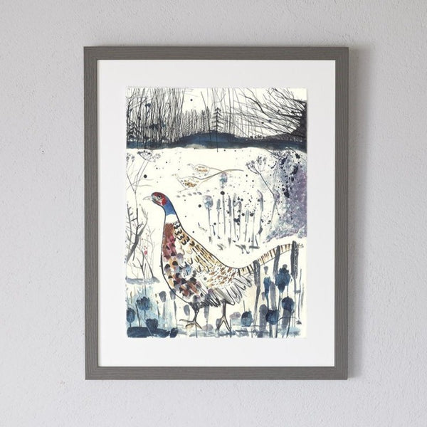 Game Birds Art Print