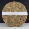 Naturally Smoked Cork Coasters & Placemats Sets