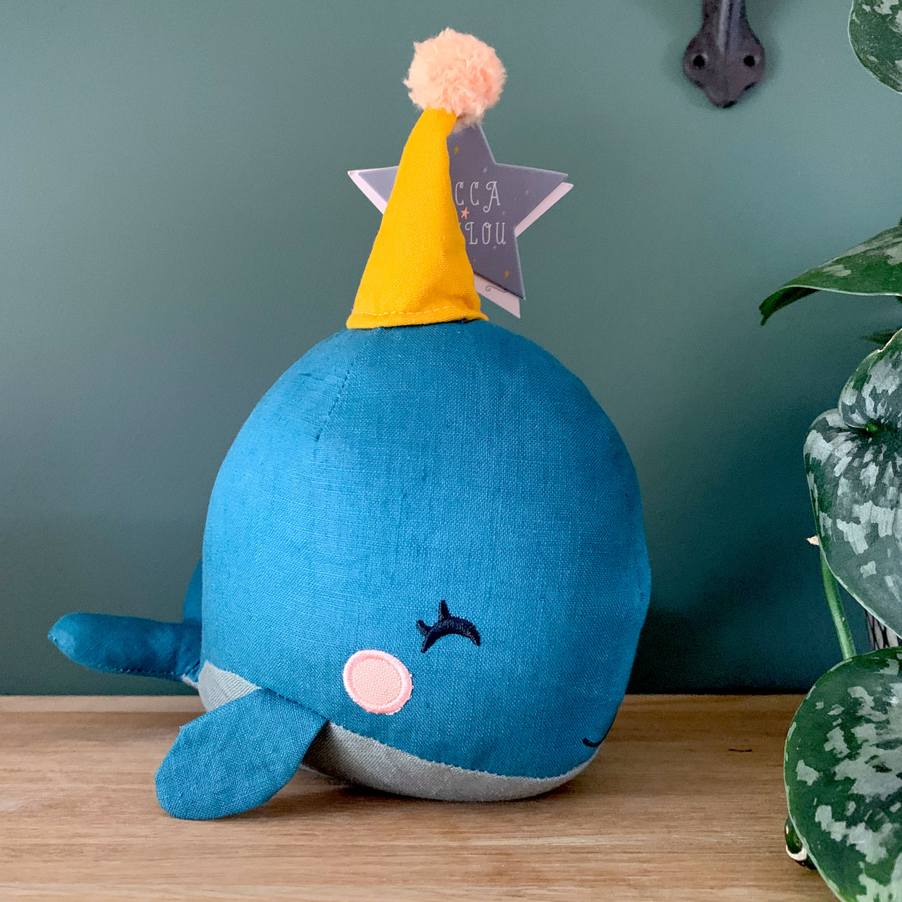 Blue Whale Gift Boxed Toy