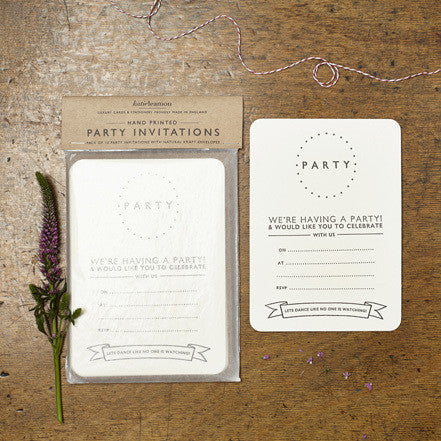 Dotty Party Invites - Quince Living