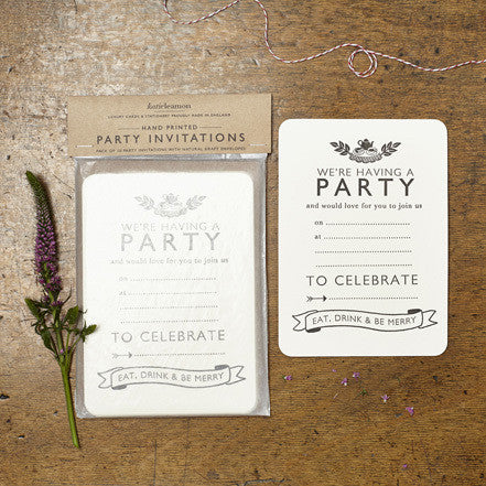 Tea Party Invites - Quince Living