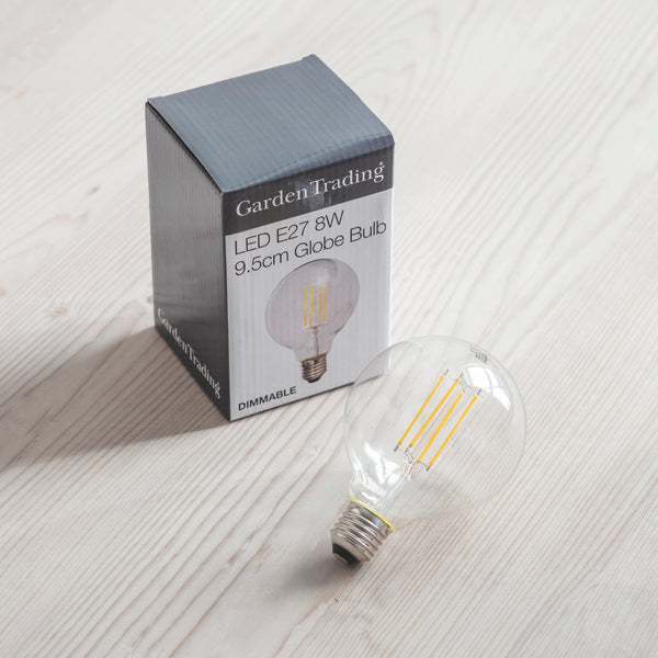 LED Dimmable Globe Light Bulb