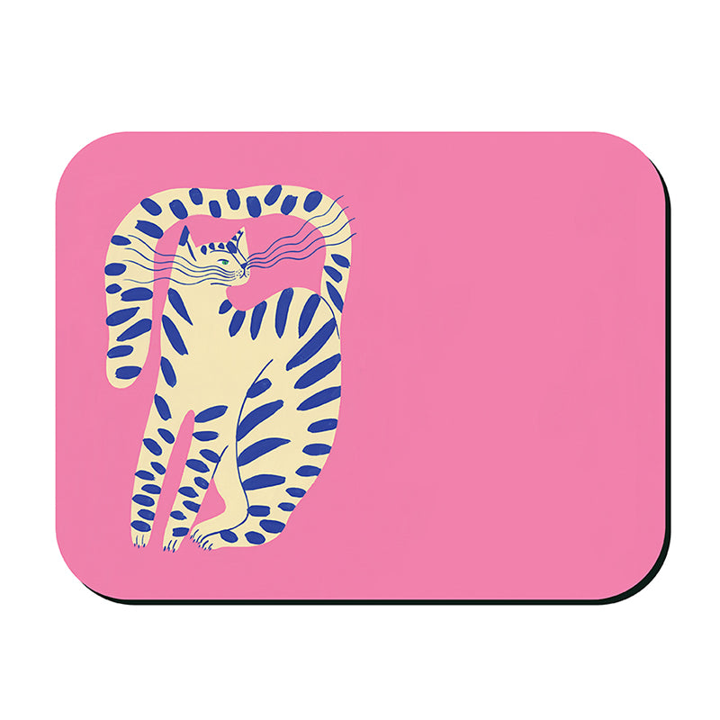 Bright Cats Placemat - Pink