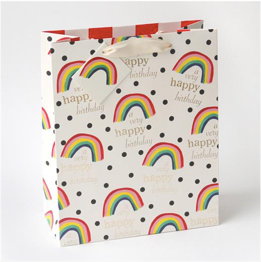 Happy Birthday Rainbow Gift Bag