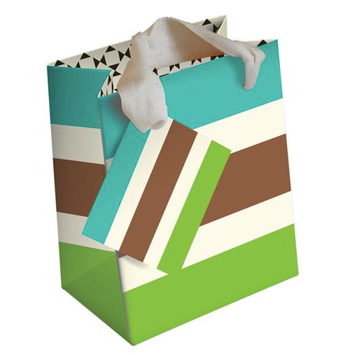 Stripe Gift Bag
