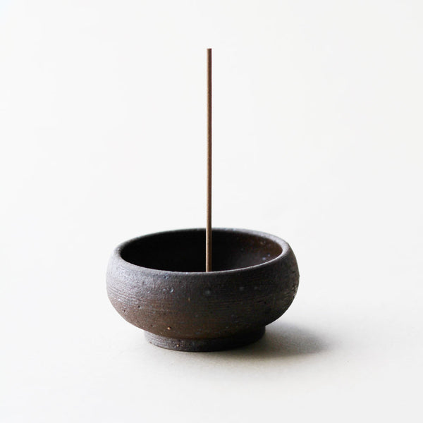 Mud Clay Handmade Incense Bowl