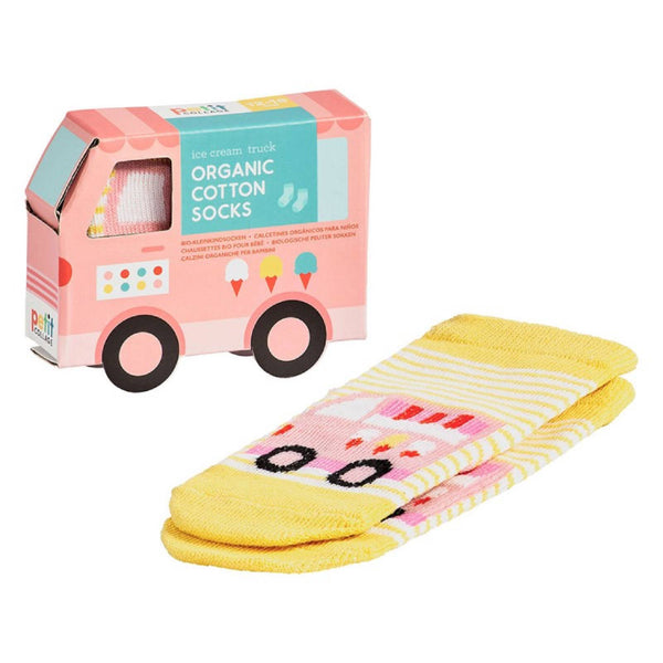 Ice Cream Van Toddler Socks