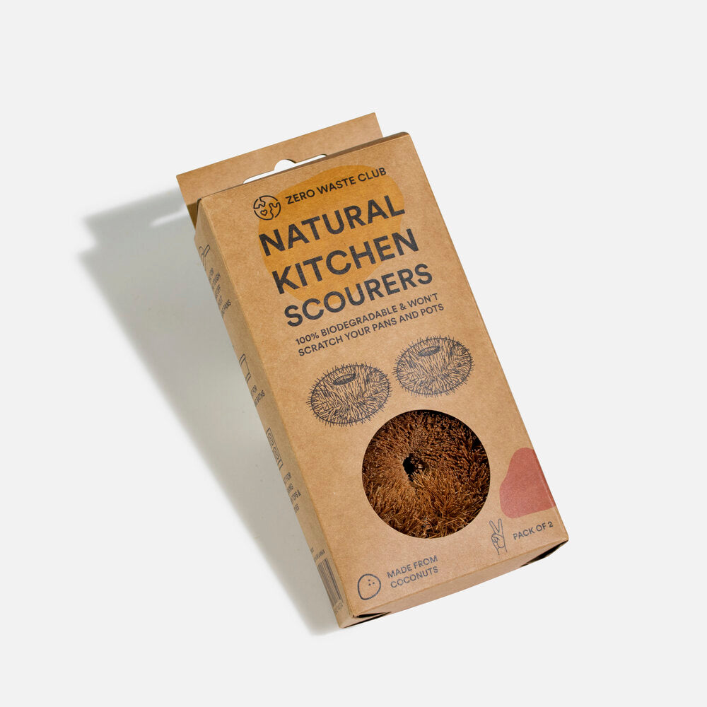 Pack of 2 Natural Scourers
