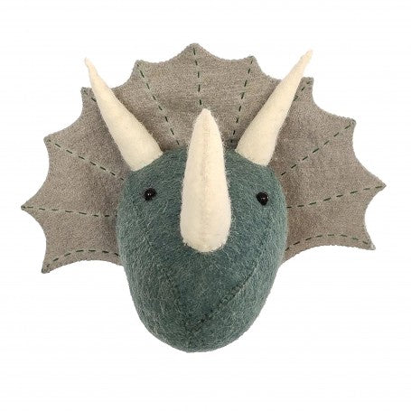 Triceratops Head Wall Decoration