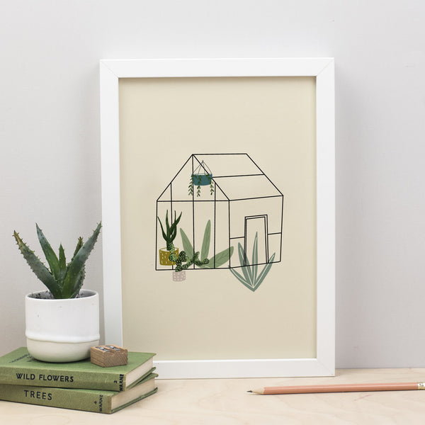 Botanical Greenhouse Print