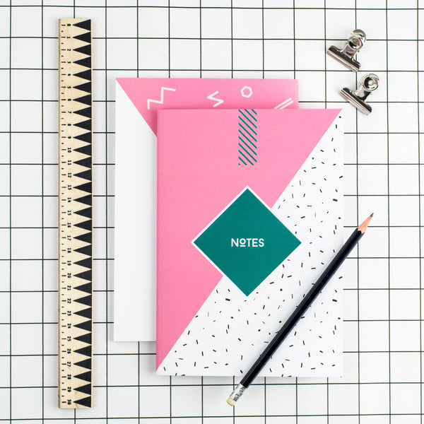 80's Pink Notepad