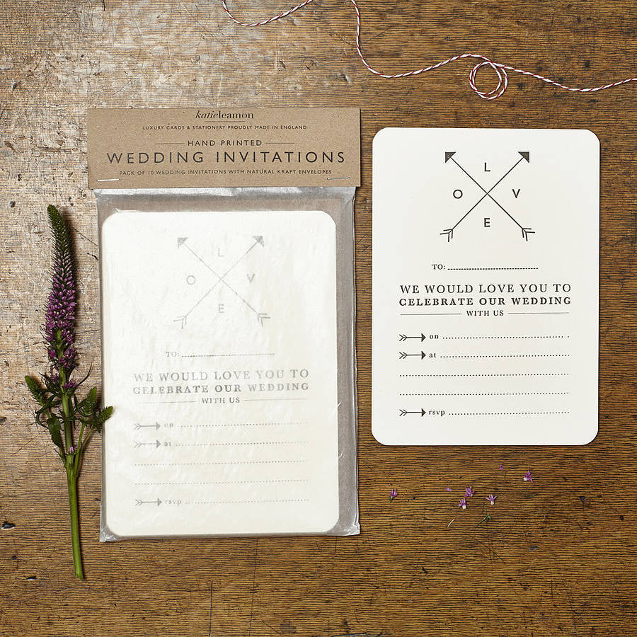 LOVE Wedding Invites - Quince Living