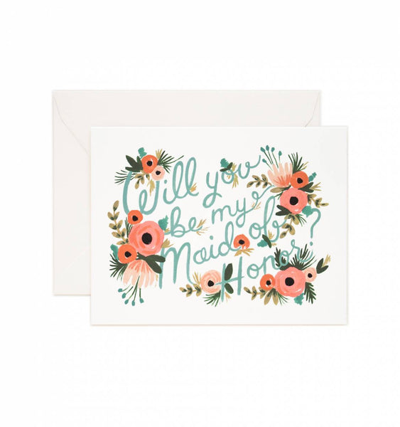 Will You Be My Maid of Honor? Card - Quince Living