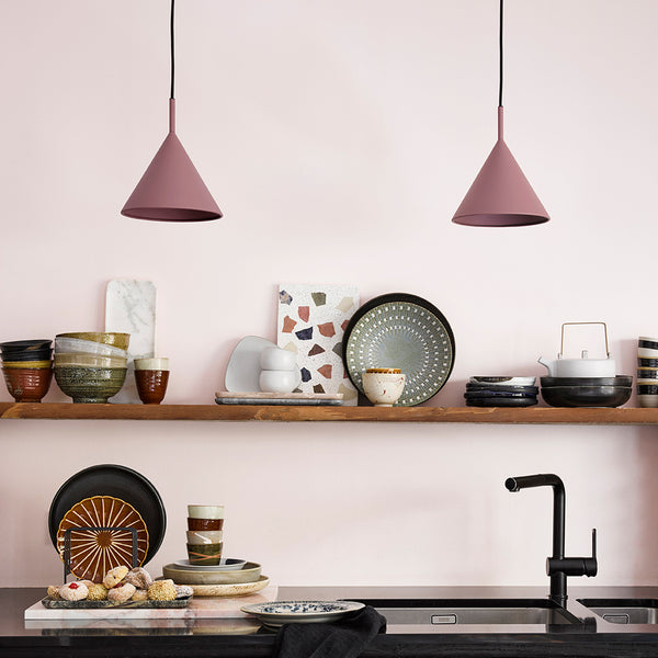 Matt Plum Pendant Shade