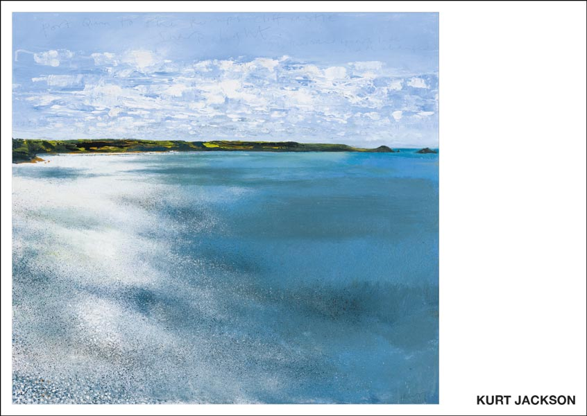 Port Quin to the Rumps. 2019.  Postcard. Pack of 10.