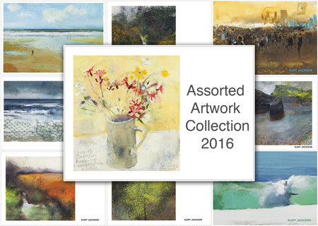 2016 Assorted Artwork Collection (Mixed pack of 15 Postcards)