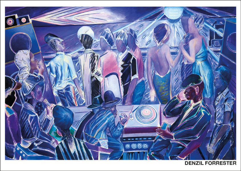 Denzil Forrester: Duppy Deh. 2018.  Postcard. Pack of 10.