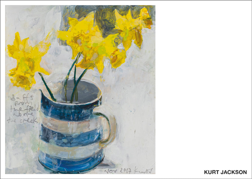 Daffs. 2017. Postcard. Pack of 10.