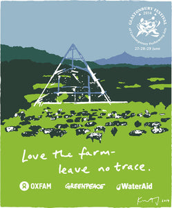 Love the Farm. 2014. Screen Print