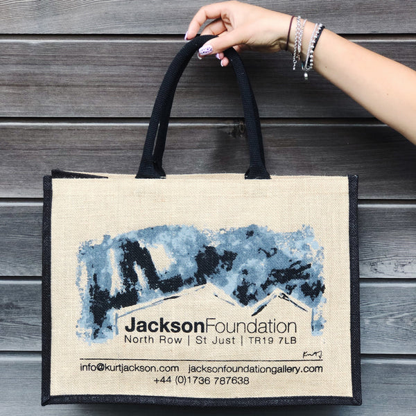 Jackson Foundation Jute Bag