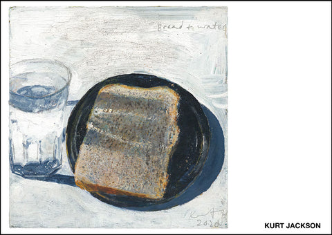 Bread and water. 2020. Postcard. Pack of 10.