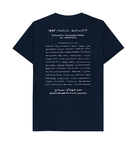 Pyramid Crowds T-Shirt. (Back)