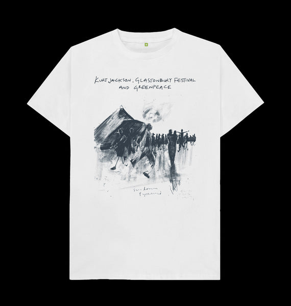 Kurt Jackson - Sundown Pyramid T-Shirt (Front)