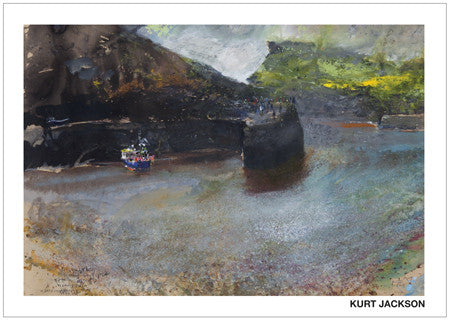 Boscastle's morning sunlight. Postcard. Pack of 10.