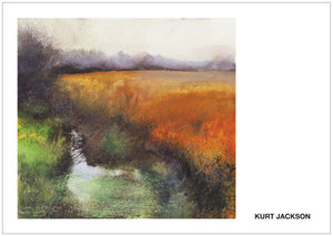 Fog and rain and bog. Postcard. Pack of 10.