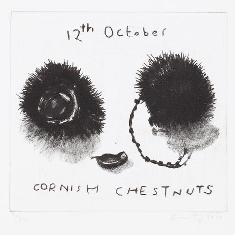 Cornish chestnuts. 2010.