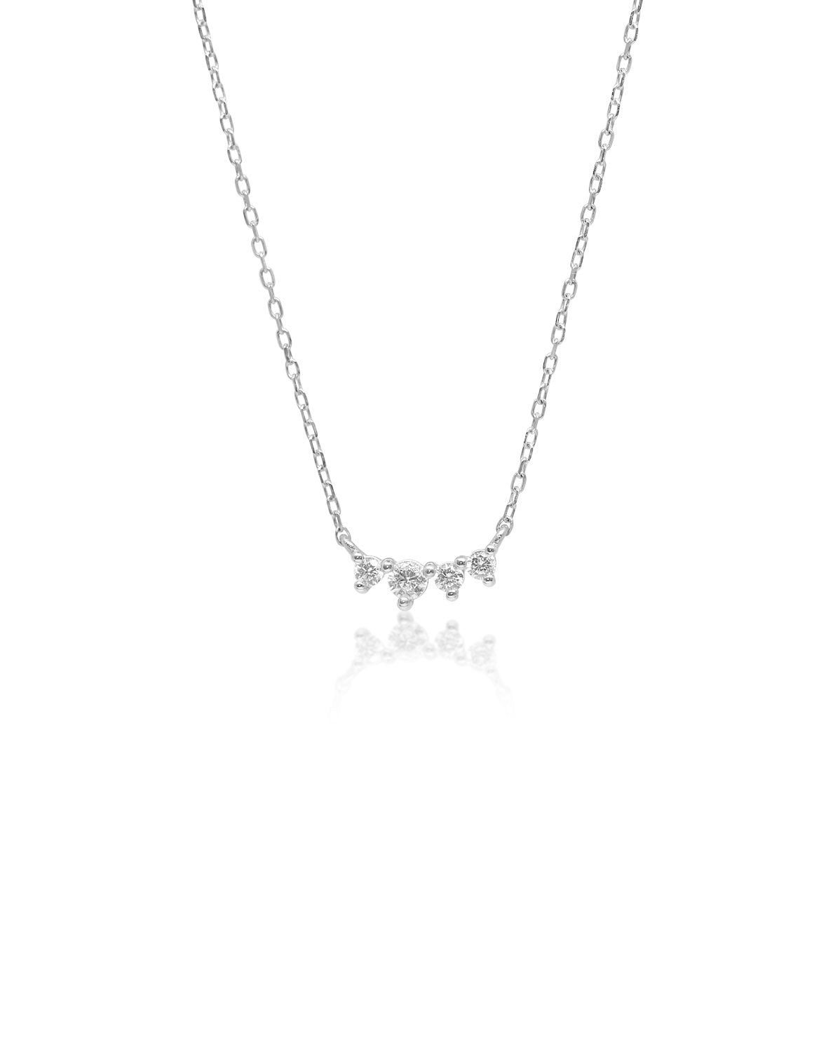 Tiara Necklace | Silver